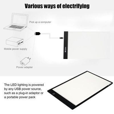 FLEIZ A4B A4 Paper Size Dimmable Painting Board LED Animation Copying Panel ^e