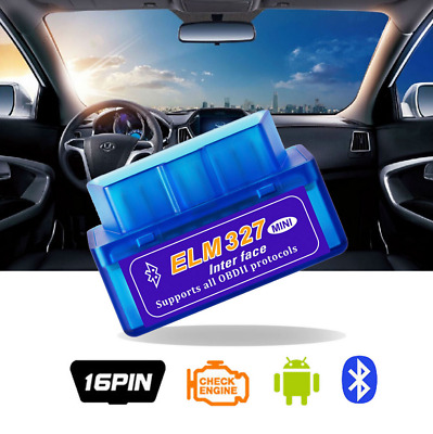 New Mini ELM327 V2.1 OBD2II Scanner di interfaccia auto diagnostica Bluetooth T