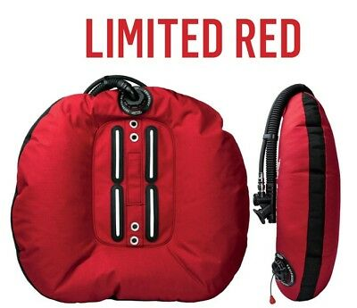 Scuba - Tecline Donut Wing 22 (55lbs) Special edition - red