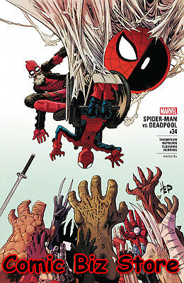 Spider-Man Deadpool #34 (2018) 1St Printing Bagged & Boarded Marvel Comics