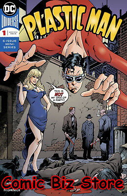 Plastic Man #1 (2018) 1St Printing Dark Nights Metal Tie-In Dc Comic Universe