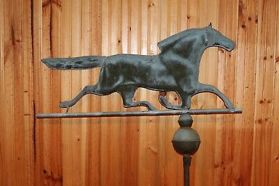 Antique Copper Running Horse Weathervane - PRICED TO SELL FAST!! - NEEDS REPAIR