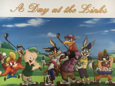 Looney Tunes Day at the Links Golf Appraisal USD$1080 COA