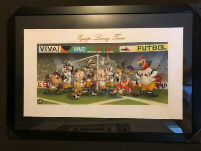 Looney Tunes Equipo Soccer Appraisal USD$300 COA MAKE AN OFFER