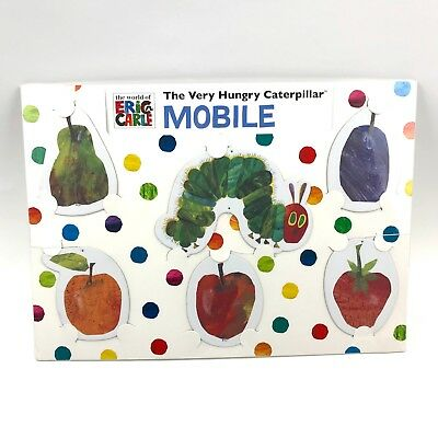 Infant Toddler Mobile Eric Carle The Very Hungry Caterpillar 18 x 16 NEW Sealed
