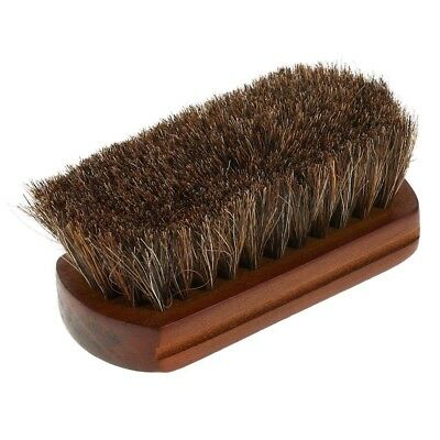 Beard Shaving Brush Wood Handle Horse Hair Mustache Comb Men Barber Facial Tool