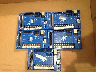 FRC FIRST ROBOTICS cRIO 9403 DIGITAL SIDECAR BREAKOUT MODULE PACK OF 5 (LOT OF 5