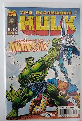 The Incredible Hulk #449 1st Thunderbolts - NM/NM+