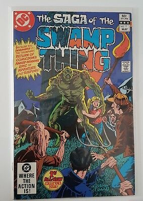 The Saga of the Swamp Thing #1 NM