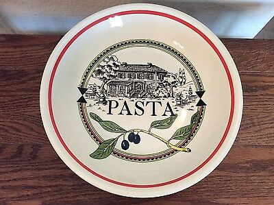 Ironstone Tableware Pasta Bowl Made In Italy & HIMARK IRONSTONE Tableware Pasta Bowl Dish plates Made in Italy ...