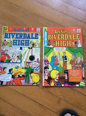 Archie At Riverdale High - Set of 2 - No. 1 Aug. And No.21 Dec.