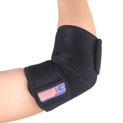 Elbow Support Elbow Pad Lightweight Effective One Size Black Outdoor Hurt