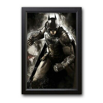 Art Print Batman Dark Knight Painting Gift Wall Decor Framed Poster
