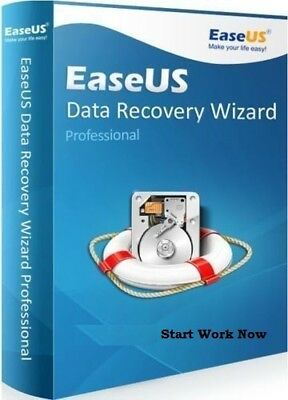 DATA RECOVERY EASEUS 11.8 PROFESSIONAL LATEST+Key Delivery in 5 min