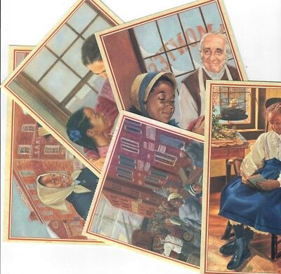 Pleasant Company Addy Postcards! Lot Of Five Retired 1996! American Girl!