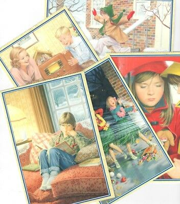 Pleasant Company Molly Postcards! Lot Of Five Retired 1996! American Girl!