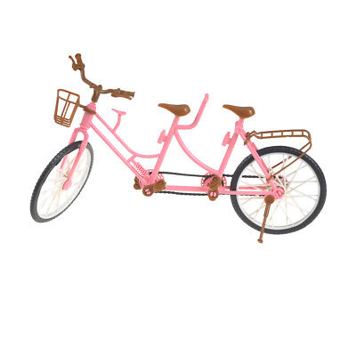 Tandem Bicycle Bike For  & Kelly & Ken Doll Outdoor Accessories AULJ