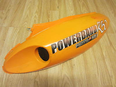Superbyke Powerband 2 Stroke R50 Chinese Scooter Rear Left Side Panel 2009 - 15
