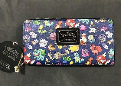 Loungefly Pokemon Zippered Wallet / Coin Purse