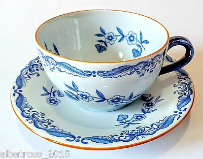 RORSTRAND OSTINDIA TEA CUP AND SAUCER SWEDEN 1960s Retro