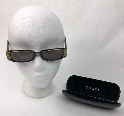 614097f7834 GUCCI vintage SUNGLASSES rare small oval palladium made in Italy GG2444 S  gosha
