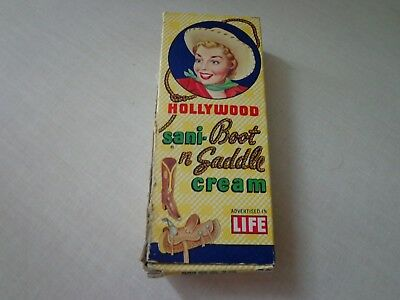 Vintage Hollywood Sani-Boot n Saddle Cream
