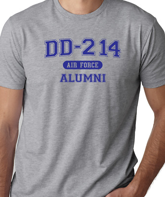 Air Force USAF Veteran DD214 USA Alumni Premium T-shirt Style
