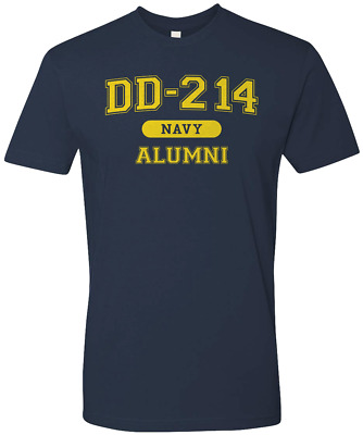 Navy Veteran DD214 USA Alumni Premium T-shirt Military