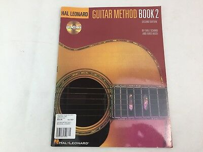 Guitar Method - Book 2 - Hal Leonard - With CD - Second Edition - (A)