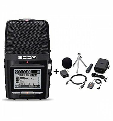 NEW ZOOM H2n accessory (APH-2n) with a set handy recorder