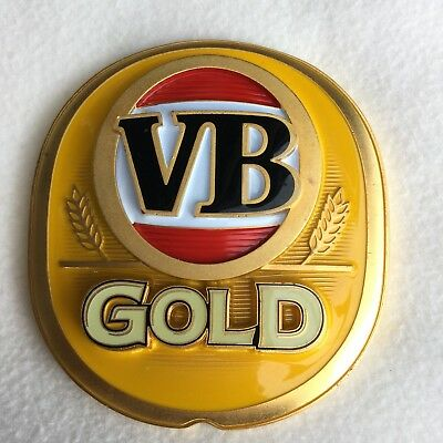 V B GOLD  METAL BADGE in Great Condition