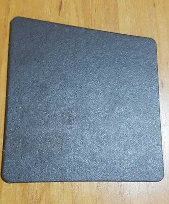 100 Pcs Drink Cardboard Coaster - 9.5 Cm × 9.5 Cm - Black Color - Party Supply