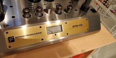 Sonic Frontiers SFS-40 Stereo Tube Amplifier