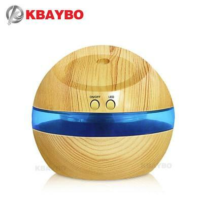 290ml Mini Blue Backlight Humidifier Ultrasonic Humidifier Air Aroma Diffuser...