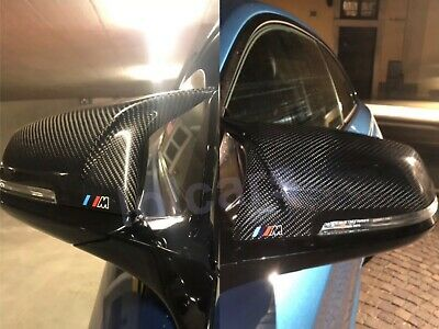 BMW M2 F87 Carbon Fiber M Performance M Mark Wing Mirror Covers OEM-Fit Pair