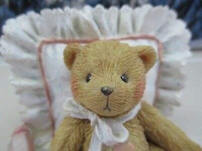 Cherished Teddies Bear Figure 1991 Mandy I love Just the Way You Are 950572