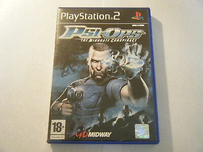 Psi-Ops : The Mindgate Conspiracy - Sony PlayStation 2 - Complet - Occasion