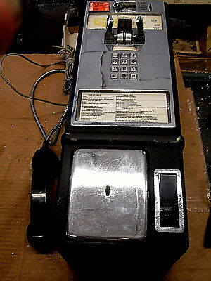 Vintage SBC Coin Operated Wall Mount PAY PHONE Telephone