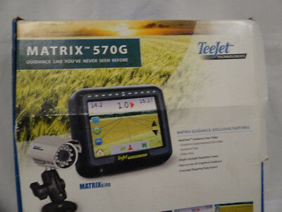Teejet Technologies Matrix 570G Monitor Pre Owned W/Cables *Tested WORKS*