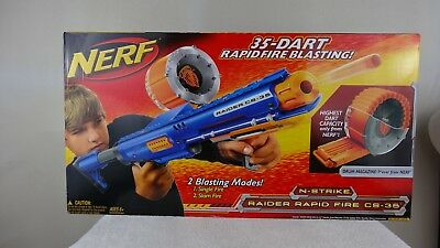 Nerf N-Strike Raider Rapid Fire CS-35  35 Dart Drum Magazine Brand New In Box