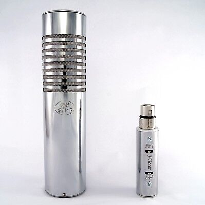 Ribbon microphone RM BIV-3/Dual Ribbon Microphone/Preamplifier/from the producer