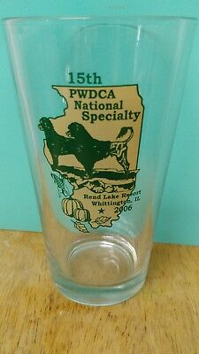 Portugese Water Dog glass 2006 National trophy