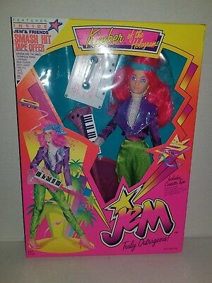 Jem and the Holograms 2nd Second Edition Kimber Doll New Hasbro Vintage 80s Toy