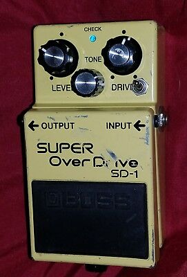 Keeley Boss SD-1 Super Overdrive - effect pedal
