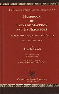 Pfj - Handbook Of Coins Of Macedon And Its Neighbors, Part I