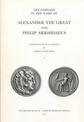 Pfj - Price, The Coinage... Of Alexander The Great