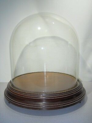 Vintage Glass Display Dome - LARGE - Local Pick-Up Only