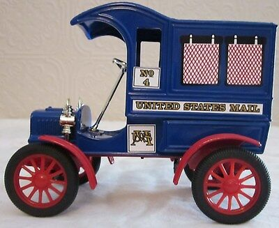 1905 Ford U.S Mail Delivery Truck Bank, Issue #4 Ser 1651, & 2191