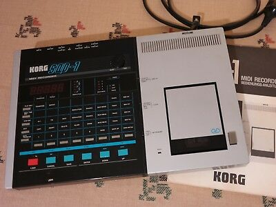 Korg SQD-1 Sequenzer, Midi Recorder