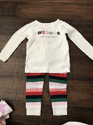 Baby Gap Awesome Pajamas 2T Girl